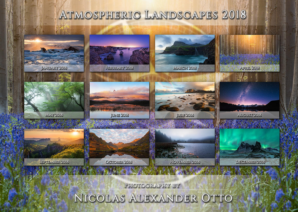 Atmospheric Landscapes 2018 by NicolasAlexanderOtto