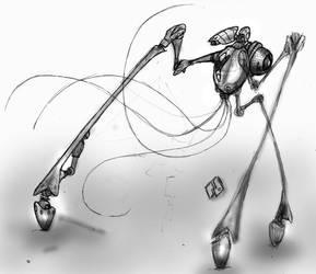 Martian Fighting Machine Main by Richard-Daborn