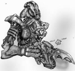 Paranid Warrior by Richard-Daborn