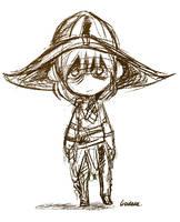 Tiny Cole sketch by Liedeke