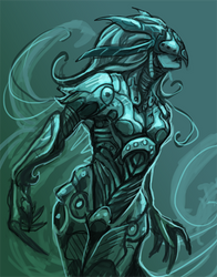 'Fluidity' Armor WIP by KeeperofAges