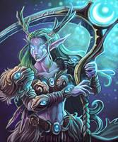 Celestial Reaper- Elaanis by KeeperofAges