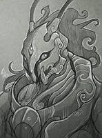 Urdaaz: Emissary of the Ijj- Sketch by KeeperofAges