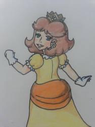 Princess daisy (super mario party) by alexmauricio407