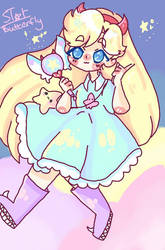 star butterfly by captain-blueberry