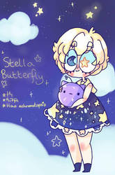 Stella butterfly by captain-blueberry