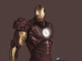 IRON Man -concept- by GaaraJapanime