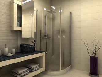 bathroom by kekikosan