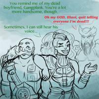 Illaoi and Braum by InkRose98