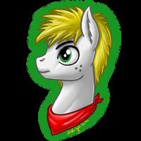 TriforceTreasureMLP Portrait by InkRose98