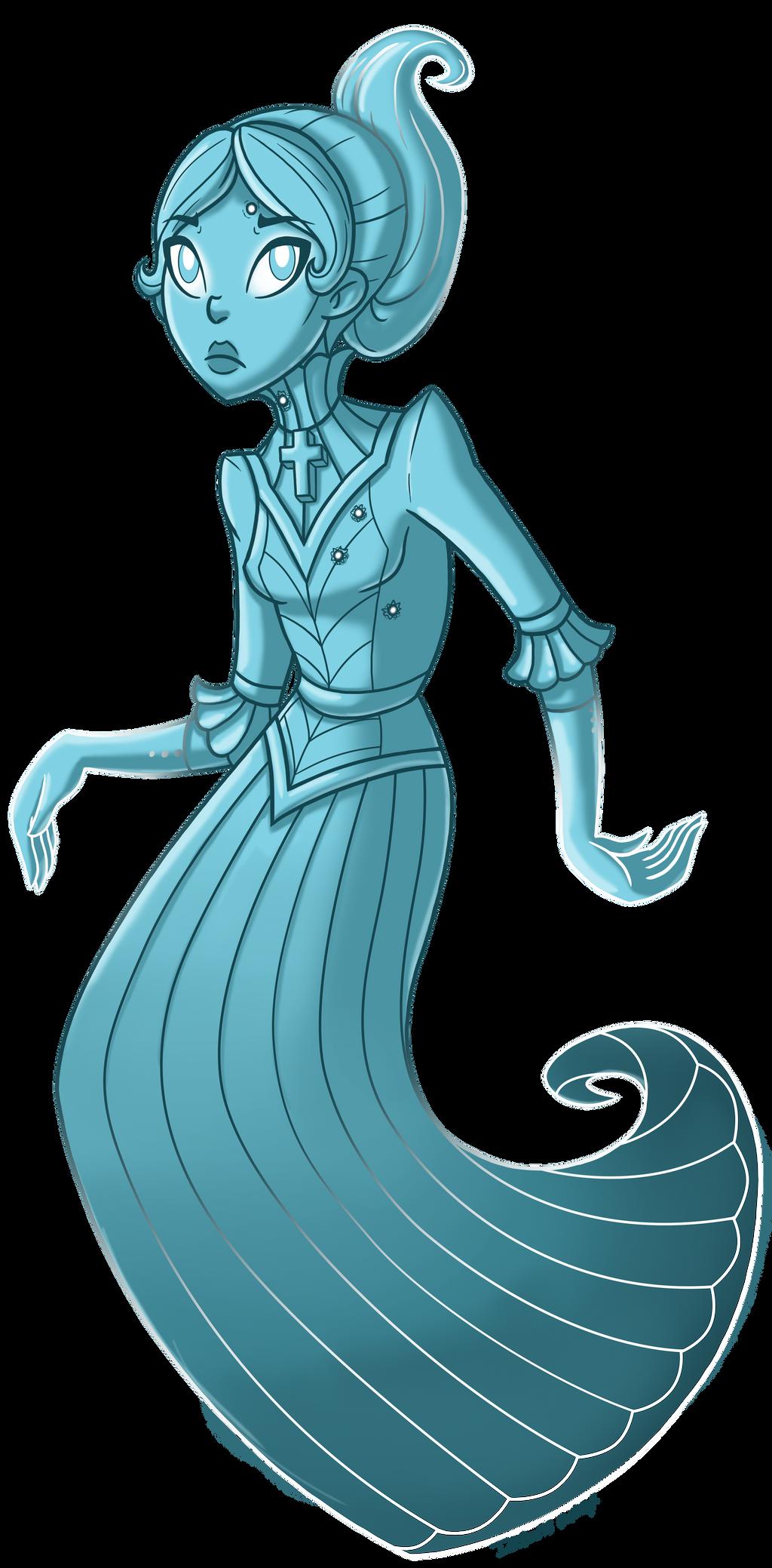 Eleanor (Spectral Lake) by InkRose98