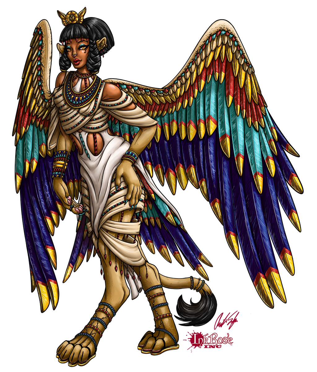 Dragon Queen: Lady Nailah of the Sphinx by InkRose98