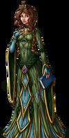 Princess Aelwen Illustration by InkRose98