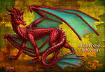 Princess Aelwen: Dragon Form by InkRose98