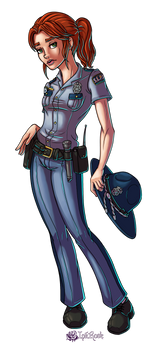 Esther Jade Quinn by InkRose98