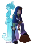 Eleanor and Chris Simple Promo Image by InkRose98