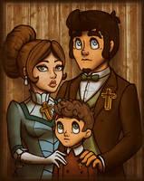 Faraday Family Portrait by InkRose98