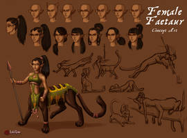 Faetaur Concept Art by InkRose98