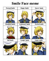 Smile face meme : Oliver by happywell
