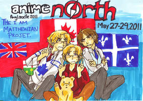 Anime North Promotion by Clolymy