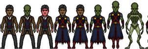 Martian Manhunter - (Teji'Talon) by LieutenantAleka