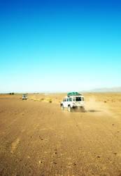 Desert Convoy by serafin666
