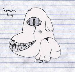 Down Dog by Delcat