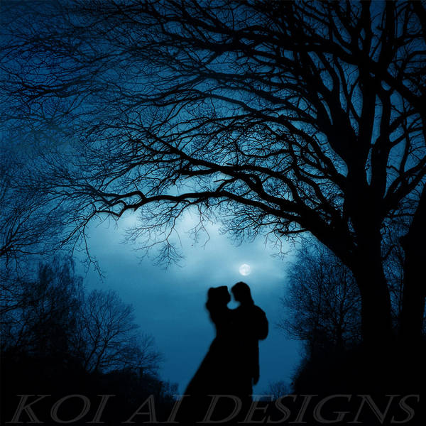 Lovers in the night by Koi-Ai-Kitty