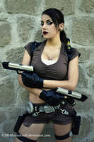 Tomb Raider Legend - Guns by FuinurCroft