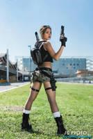 Tomb Raider AOD - Render pose by FuinurCroft