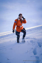 Tomb Raider III Antarctica - Looking around by FuinurCroft