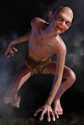 Gollum by CodenameZeus