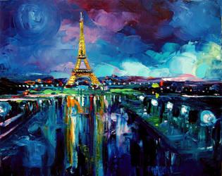 Parisian Night by sagittariusgallery