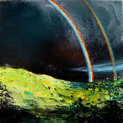 Double Rainbow All The Way by sagittariusgallery