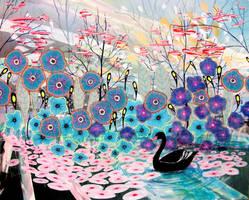 The Black Swan by sagittariusgallery