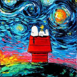 van Gogh Never Saw Woodstock by sagittariusgallery