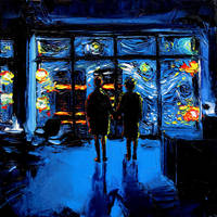 van Gogh Never Watched The World Burn by sagittariusgallery
