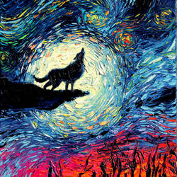 van Gogh Never Howled At The Moon by sagittariusgallery