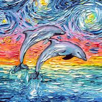 van Gogh Never Saw Paradise by sagittariusgallery