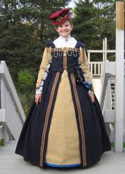 Elizabethan Child's Dress by ladyrose04