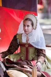 Elizabethan Maid of Honor 2 by ladyrose04