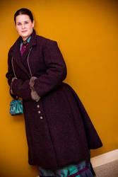 Bustle Coat by ladyrose04