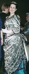 Steampunk Dinner Gown by ladyrose04