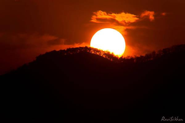 Sunrise over Corbett by Ravinss