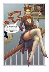 Mary Poppins: Element of Fun by digitalgil