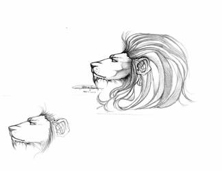 Lion of the LAD Series by viciouskitten