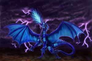 Syrask, dragoness of Doom XD by Luarcis