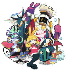 My original characters. by Gashi-gashi
