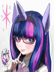 Humanized twilighit returns by Gashi-gashi