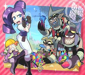 A Dog and Pony Show by Gashi-gashi
